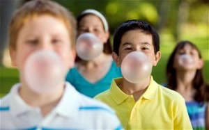 Chewing gum. Source: Google Creative Commons.