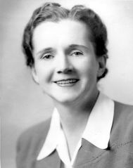 Rachel Carson in 1940 (Source: Wiki Commons)